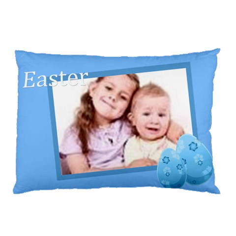 Easter By Wood Johnson   Pillow Case   7nxj6f5ylhqe   Www Artscow Com 26.62 x18.9 Pillow Case