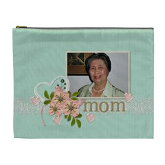 Cosmetic Bag (xl)   Pastel Mom1 By Jennyl   Cosmetic Bag (xl)   9d0smkldif2e   Www Artscow Com Front