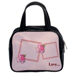 rose handbag - Classic Handbag (One Side)