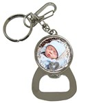 Swirly Love Bottle Opener Key Chain