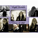 Kayla announcement 2011(1) - 5  x 7  Photo Cards