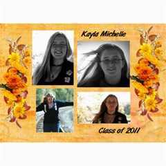 Kayla Announcement 2011(1) By Tammy Baker   5  X 7  Photo Cards   Xh8d11vqniq7   Www Artscow Com 7 x5 Photo Card - 5