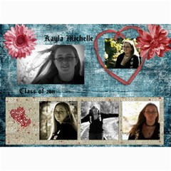 Kayla Announcement 2011(1) By Tammy Baker   5  X 7  Photo Cards   Xh8d11vqniq7   Www Artscow Com 7 x5 Photo Card - 6