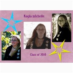 Kayla Announcement 2011(1) By Tammy Baker   5  X 7  Photo Cards   Xh8d11vqniq7   Www Artscow Com 7 x5 Photo Card - 7