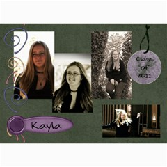 Kayla Announcement 2011(3) By Tammy Baker   5  X 7  Photo Cards   Uvdh3uoy6fkw   Www Artscow Com 7 x5 Photo Card - 1