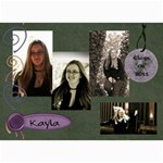 Kayla announcement 2011(3) - 5  x 7  Photo Cards