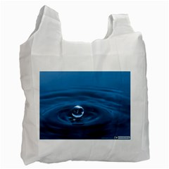 Water Drop Recycle Bag (two Side)