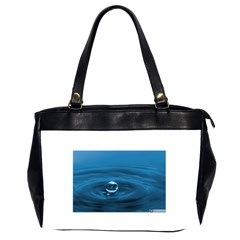 Water Drop Oversize Office Handbag (Two Sides) by dogland