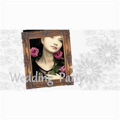 Wedding Card By Joely   4  X 8  Photo Cards   C3xn45kpwq4w   Www Artscow Com 8 x4 Photo Card - 5