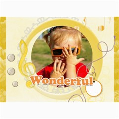 Wonderful By Joely   5  X 7  Photo Cards   R6s56l3gn5sl   Www Artscow Com 7 x5 Photo Card - 2