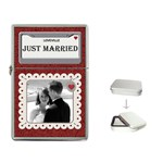 Just Married Flip Top Lighter