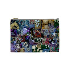 Zazzle Images Collage Treasure Boxes Cosmetic Bag (Medium) by CraftNirvana