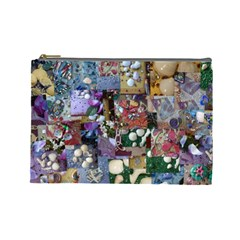 Zazzle Images Collage Treasure Boxes Cosmetic Bag (Large) by CraftNirvana