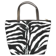 Zebra Fur Print Bucket Bag By Bags n Brellas   Bucket Bag   S87w80h3lijv   Www Artscow Com Back