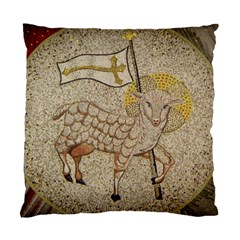 Lamb Of God Small Pillow 2 By Tina Van Wagenen   Standard Cushion Case (two Sides)   Qzwvgc1jvcli   Www Artscow Com Front