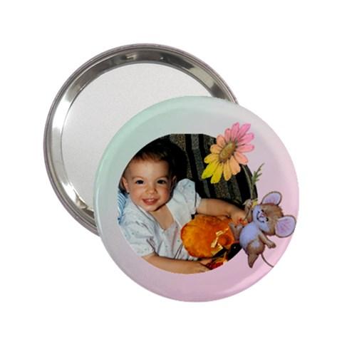 Mum s Baby Girl Mirror By Deborah   2 25  Handbag Mirror   Apinmyqb3rmn   Www Artscow Com Front
