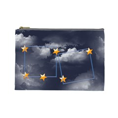 Cloud Stars Cosmetic Bag (l) By Elena Petrova   Cosmetic Bag (large)   Bcn2vg3359kh   Www Artscow Com Front