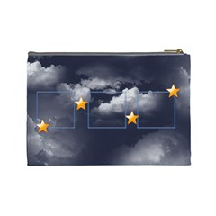 Cloud Stars Cosmetic Bag (l) By Elena Petrova   Cosmetic Bag (large)   Bcn2vg3359kh   Www Artscow Com Back