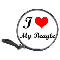 I Love My Beagle Classic 20 Cd Wallet