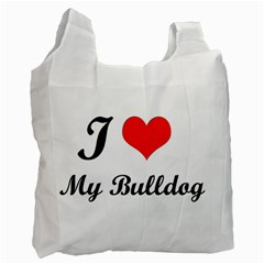 I Love My Beagle Recycle Bag (Two Side)