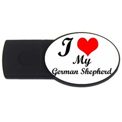 I Love My Beagle Usb Flash Drive Oval (2 Gb) by vipstores