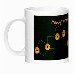 Happy moments together luminous mug by Elena Petrova Left
