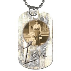Mommy s Girl Mothers Day Double Sided Dog Tag By Catvinnat   Dog Tag (two Sides)   K22y7a24ok6i   Www Artscow Com Back