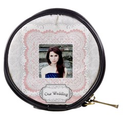 Our Wedding By Joely   Mini Makeup Bag   L1usmkxm64tp   Www Artscow Com Front