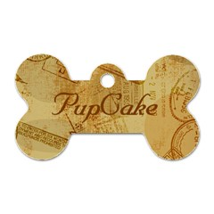 Pupcake s Tag By Brittany   Dog Tag Bone (two Sides)   Notiljk1wfha   Www Artscow Com Front