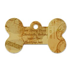 Pupcake s Tag By Brittany   Dog Tag Bone (two Sides)   Notiljk1wfha   Www Artscow Com Back