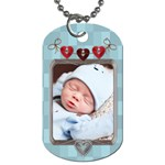 Baby Love 1-Sided Dog Tag - Dog Tag (One Side)