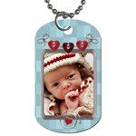 Baby Love 2-Sided Dog Tag - Dog Tag (Two Sides)