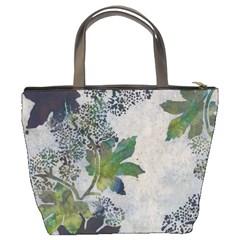 Leaves Green Bucket Bag By Bags n Brellas   Bucket Bag   Mnoo094shsmp   Www Artscow Com Back
