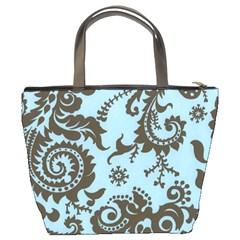 Sky Swirl Bucket Bag By Bags n Brellas   Bucket Bag   Pifluflugeaf   Www Artscow Com Back