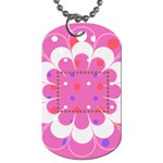 My Flower dog tag 2s - Dog Tag (Two Sides)