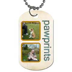 Love Me Love My Dog Double Sided Dogtag By Catvinnat   Dog Tag (two Sides)   F26jfc8vmmvx   Www Artscow Com Back
