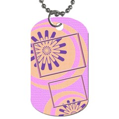 Family Dog Tag 2s By Daniela   Dog Tag (two Sides)   Piqm4sg2dw6v   Www Artscow Com Front