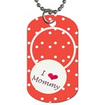 Love Mommy dog tag 2s - Dog Tag (Two Sides)