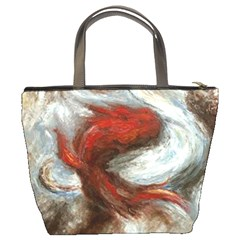Koi Abstract Bucket Bag By Bags n Brellas   Bucket Bag   Twklq7vb2dv4   Www Artscow Com Back