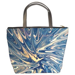 Blue Burst Bucket Bag By Bags n Brellas   Bucket Bag   2aiuuubwqso6   Www Artscow Com Back