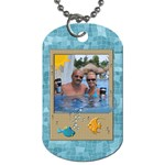 Tropical Travel 2-Sided Dog Tag - Dog Tag (Two Sides)