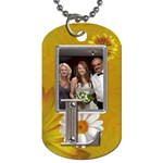 L  Monogram 2-Sided Dog Tag - Dog Tag (Two Sides)