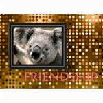 friendship - 5  x 7  Photo Cards