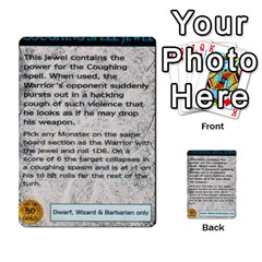Warhammer Quest 1 By Kieren   Multi Purpose Cards (rectangle)   Zyzykjq2fc21   Www Artscow Com Front 54