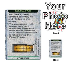Warhammer Quest 1 By Kieren   Multi Purpose Cards (rectangle)   Zyzykjq2fc21   Www Artscow Com Front 8