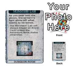 Warhammer Quest 1 By Kieren   Multi Purpose Cards (rectangle)   Zyzykjq2fc21   Www Artscow Com Front 9