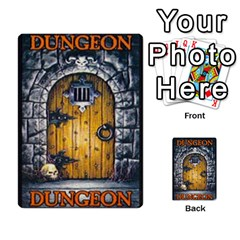 Warhammer Quest 1 By Kieren   Multi Purpose Cards (rectangle)   Zyzykjq2fc21   Www Artscow Com Back 9