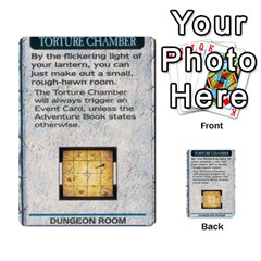 Warhammer Quest 1 By Kieren   Multi Purpose Cards (rectangle)   Zyzykjq2fc21   Www Artscow Com Front 2