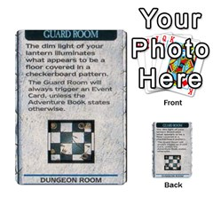 Warhammer Quest 1 By Kieren   Multi Purpose Cards (rectangle)   Zyzykjq2fc21   Www Artscow Com Front 11