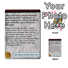 Warhammer Quest 1 By Kieren   Multi Purpose Cards (rectangle)   Zyzykjq2fc21   Www Artscow Com Front 16